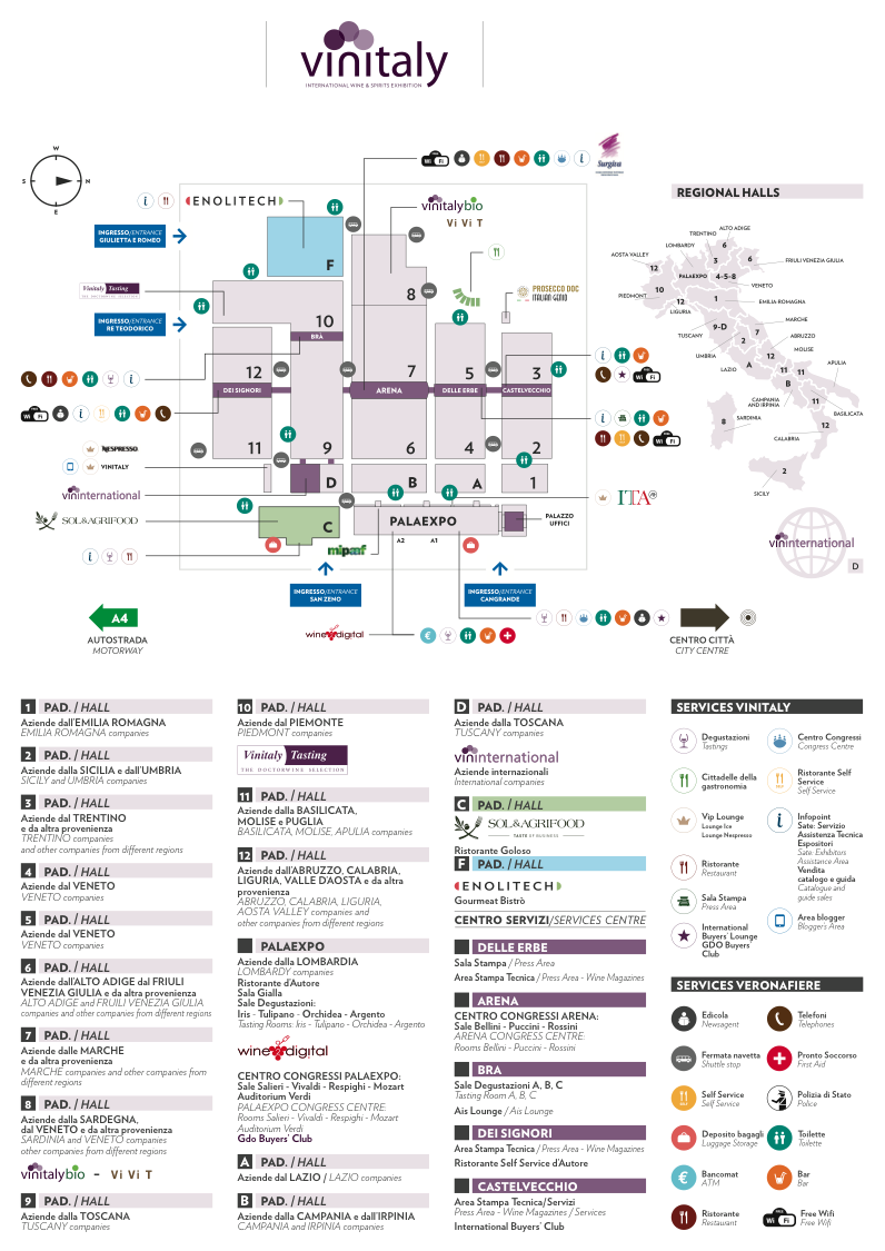 mappa vinitaly 2017