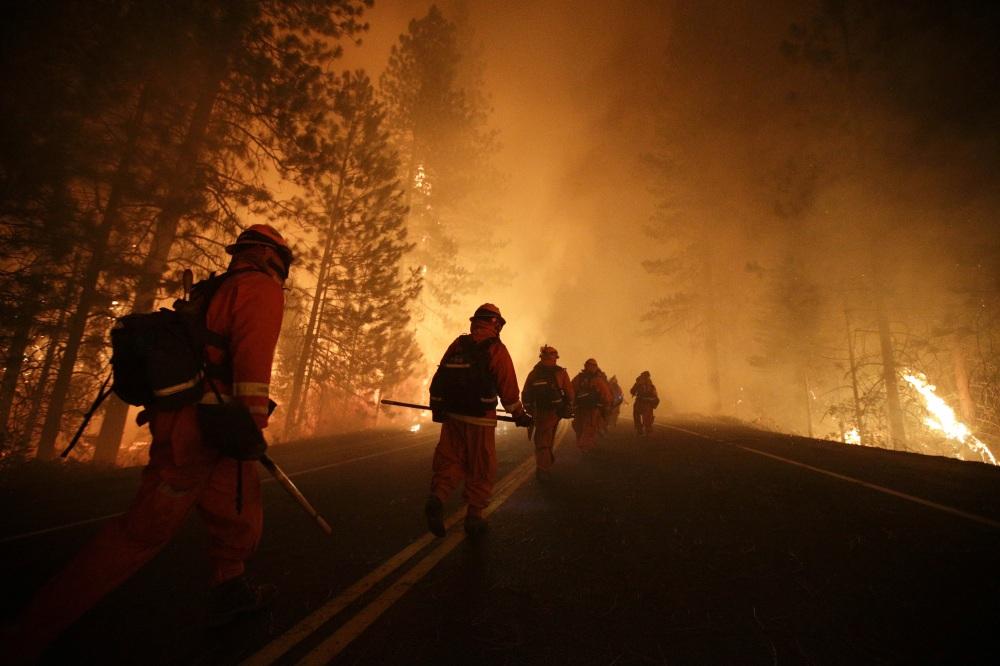 APTOPIX Western Wildfire