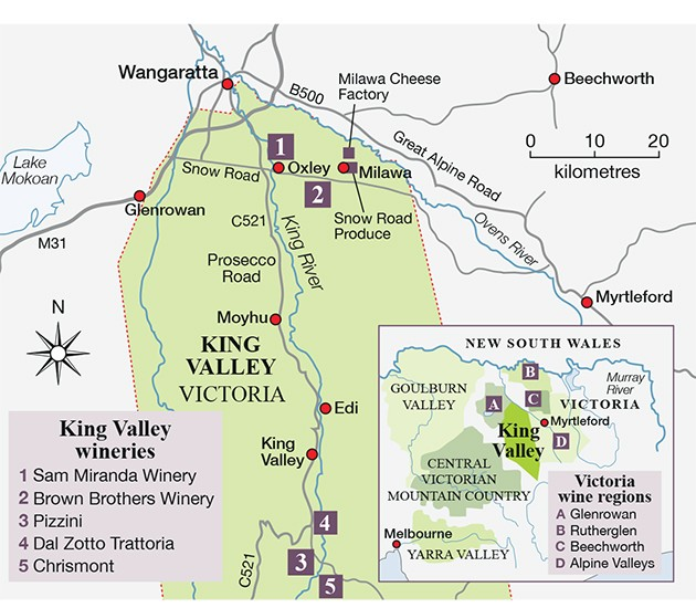 King Valley Prosecco Road