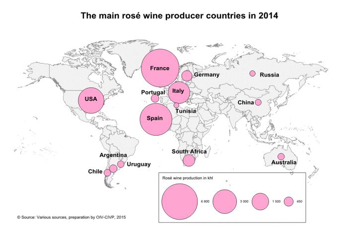 I maggiori Paesi produttori - OIV 2014