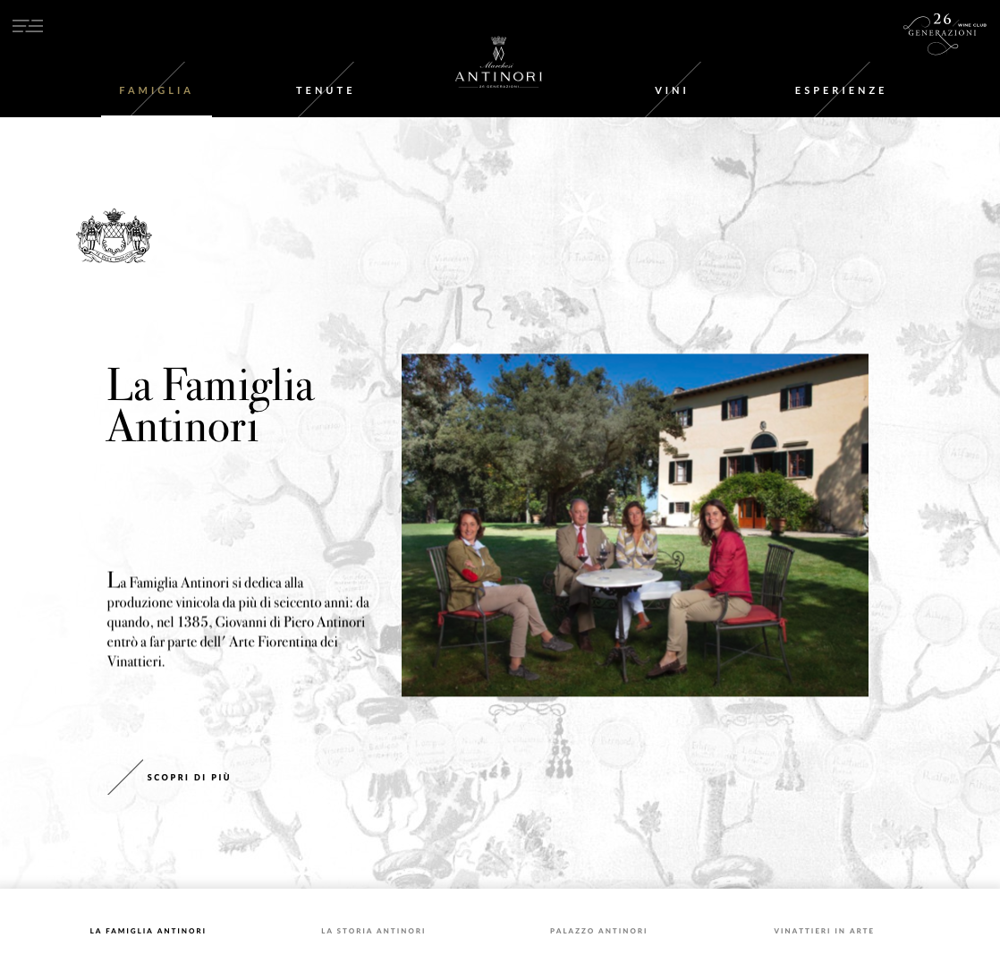 antinori website
