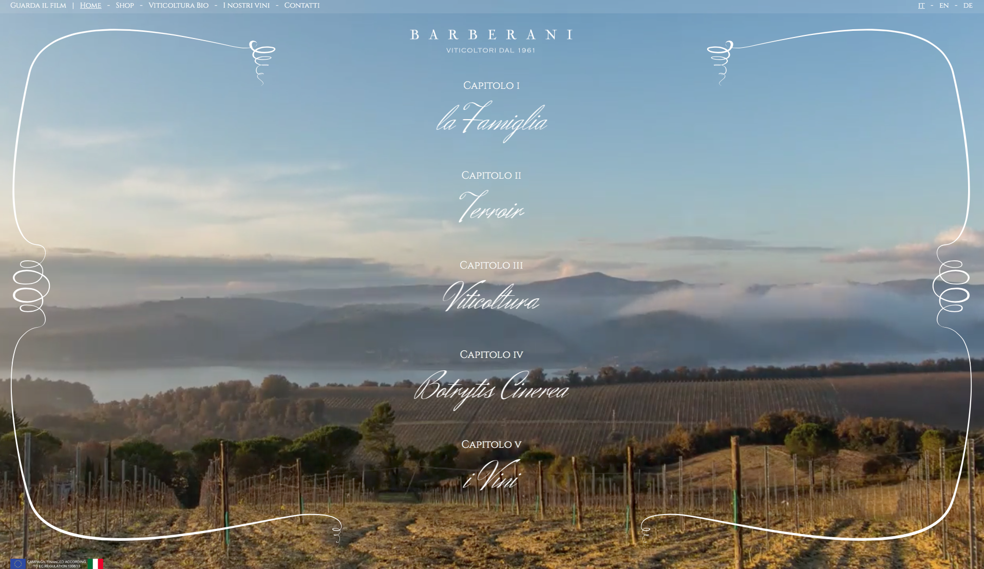 barberani website